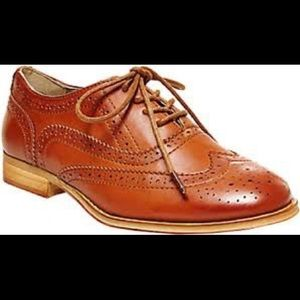Steve Madden leather Oxford shoes